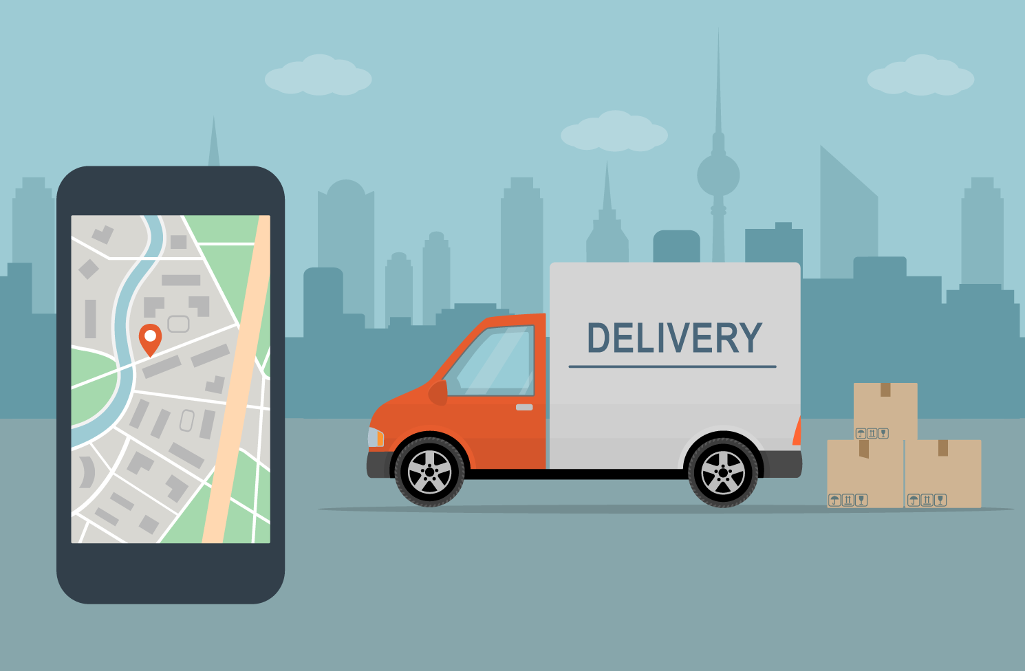 New features for OnTime Courier Software for drivers