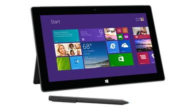 Surface Pro by Microsoft for delivery software