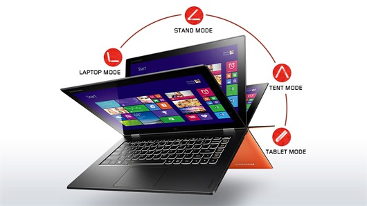 Yoga 2 Pro by Lenovo for courier software