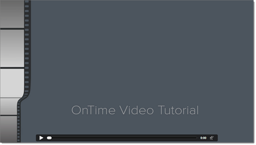 OnTime delivery software video tutorials